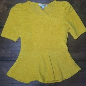 Forever 21 small Golden yellow shirt